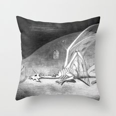 Weak and Weary Throw Pillow