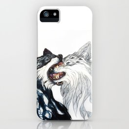 Dream Wolves iPhone Case