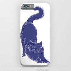 Warren - Cat colour print Slim Case iPhone 6s
