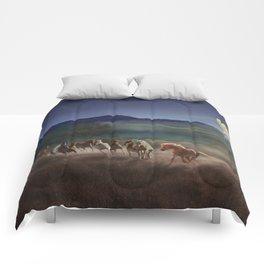 Moonlight Run Comforters