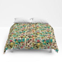 Green Eggs & Ham - Mid-Century Comforters