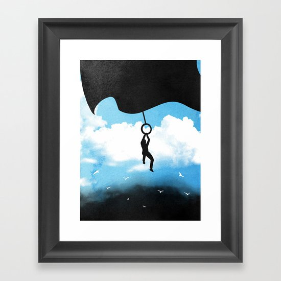 Curtain Call Framed Art Print