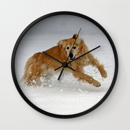 Leaping Wall Clock