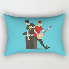 Tegan and Sara: Bategan and Sarobin Rectangular Pillow