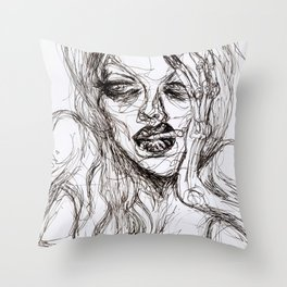Ennui Throw Pillow