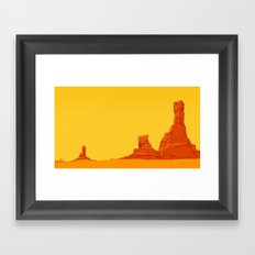 Coyote Country Framed Art Print