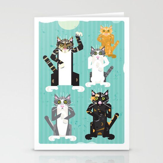 Cats I have known Stationery Cards