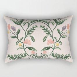 Modern Folk Art Rectangular Pillow