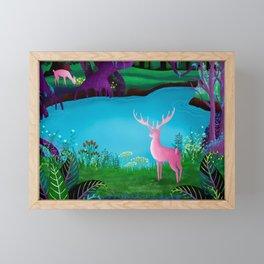 The Silent Deep Stream of Greendown Glenn Framed Mini Art Print