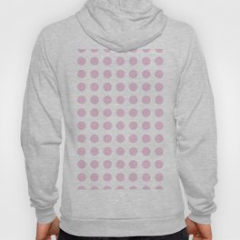Simply Polka Dots in Blush Pink Hoody