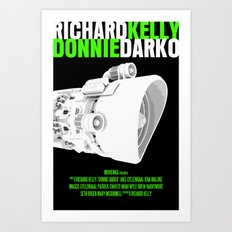 Donnie Darko Movie Poster Art Print