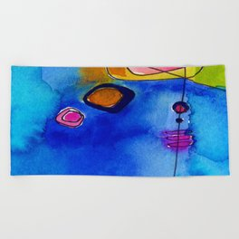 Magical Thinking No. 2C by Kathy Morton Stanion Beach Towel
