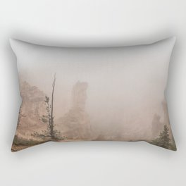 Bryce Canyon Obscured Rectangular Pillow
