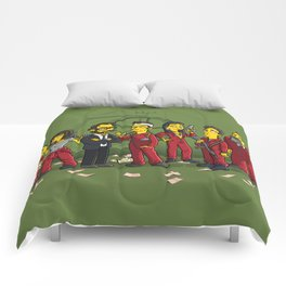 Casa De Papel Comforters