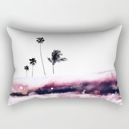 Palm 04 (Pink) Rectangular Pillow