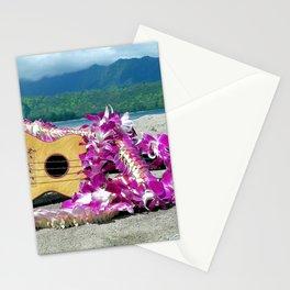 Hawaiian Ukulele Stationery Cards