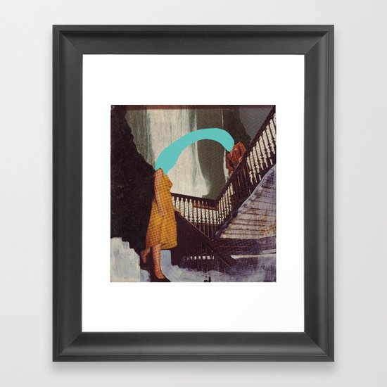 RIPTIDE Framed Art Print