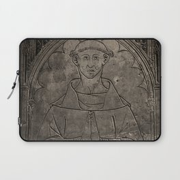 Monk mural Laptop Sleeve