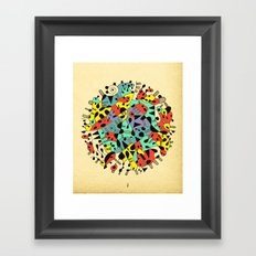 - age of the sun_02 - Framed Art Print