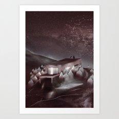 Night Sky Stories Art Print
