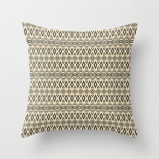Aztec 8 Throw Pillow