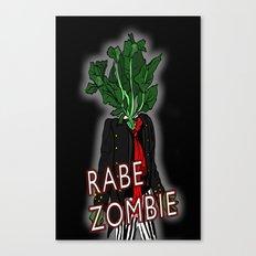 Rabe Zombie Canvas Print