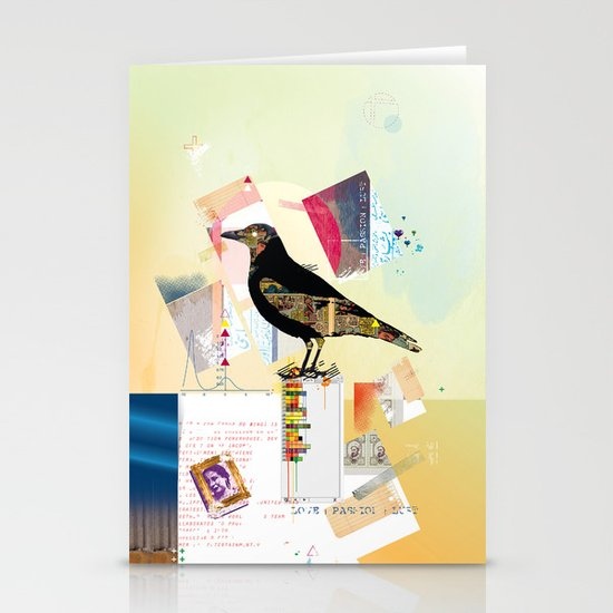 Comic Raw Stationery Cards
