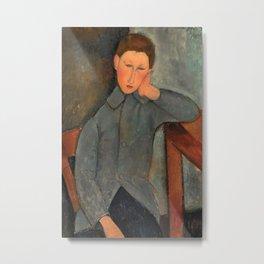 Amedeo Modigliani - The Boy Metal Print
