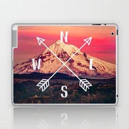Snowy Mountain Compass Laptop & iPad Skin