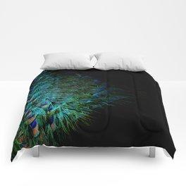 Peacock Details Comforters