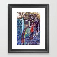 Psychoactive Bear 4 Framed Art Print