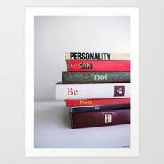 Personality Art Print