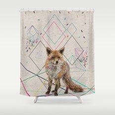 PATHS Shower Curtain