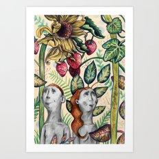 And Eve Art Print