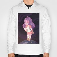 bee and puppycat Hoodies featuring Bee and Puppycat by Steph Harrison