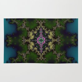 Fractal Hexagon Rug