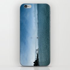 Golden Gate Bridge + Fog iPhone & iPod Skin