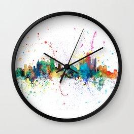 Kansas City Skyline Wall Clock