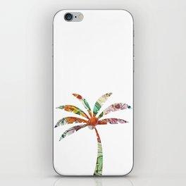 Palm Tree Fabric iPhone Skin