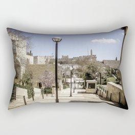 Jerusalem Old City Rectangular Pillow