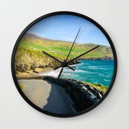 Slea Head   Ireland (RR 227) Wall Clock