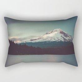 Sunset at Trillium Lake Rectangular Pillow