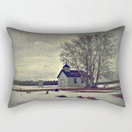 A Cool November Morning Rectangular Pillow