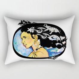 Pirate Nereid - Color Rectangular Pillow