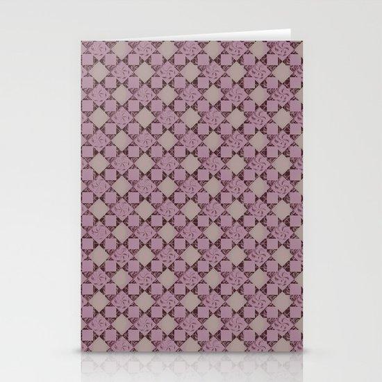 pattern (pale pink#2) Stationery Cards