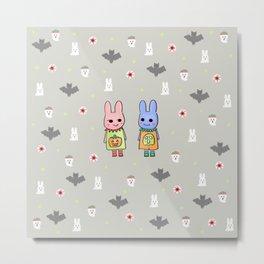 Spooky Cuteness Metal Print