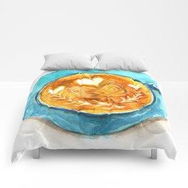 A Latte Hearts Comforters