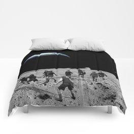 Moon Rocks For Goal Posts Comforters
