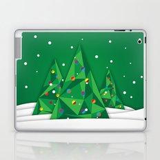 Vector Christmas Tree Laptop & iPad Skin