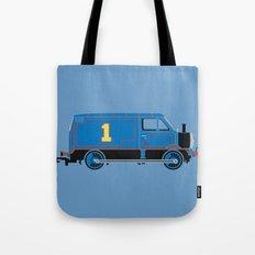 Tommy the Van Engine Tote Bag